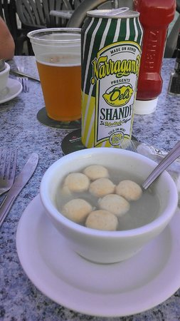 George's of Galilee: Delicious clear chowda!