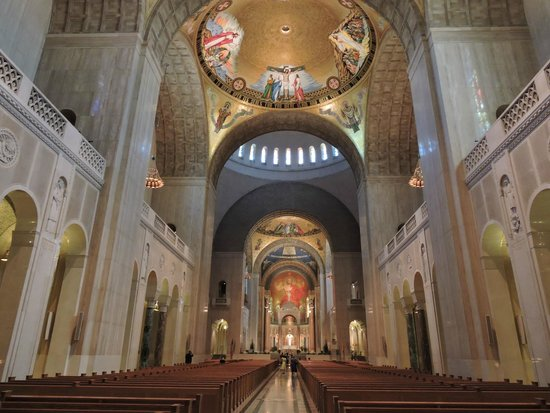 Basilica of the National Shrine of the Immaculate Conception: Interior view
