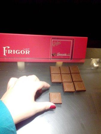 Maison Cailler Chocolaterie: Frigor!
