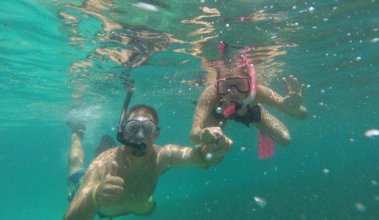 Garrafon de Castilla : Snorkeling!