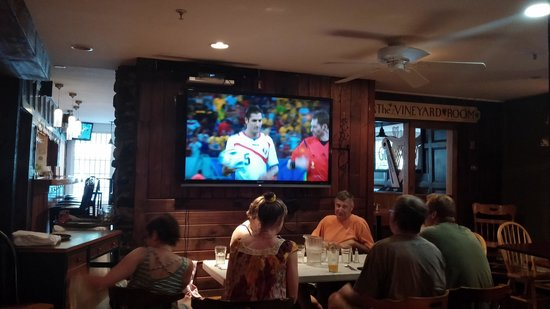The Tilton Inn: world cup action