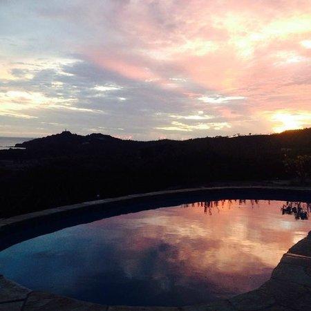 Naked Tiger Hostel: sunset