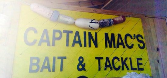 Captain Mac's Fish House Seafood Market & Dining: decor from old store