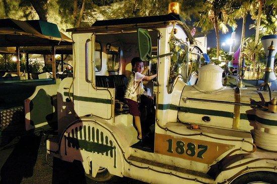 Danga Bay: Train ride at fun fair