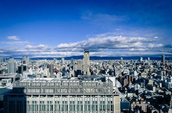 Hotel Nikko Osaka: 房間看出去的樣子
