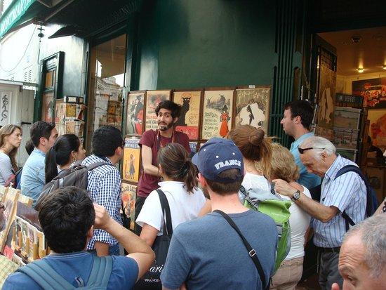 SANDEMANs NEW Paris Tours : Montmarte con Esteban