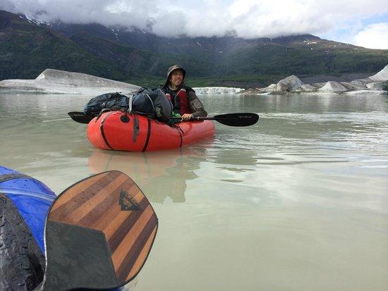 St. Elias Alpine Guides Day Adventures: Packrafting on the Nizina.