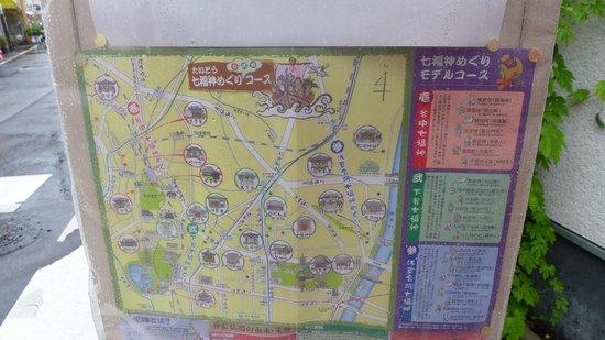 Yanaka : 地圖