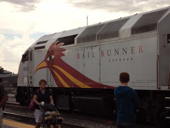 New Mexico Rail Runner: Rail Runner Engine