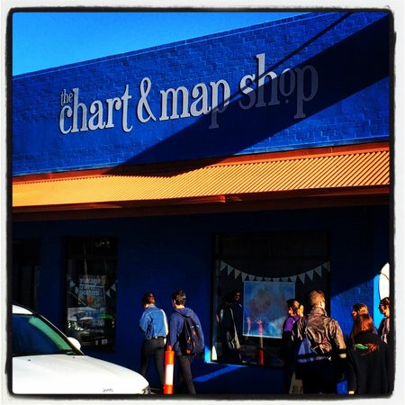 The Chart & Map Shop: The new sign