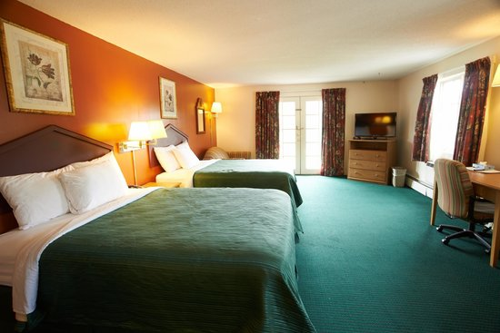 Swiss Chalets Village Inn: Deluxe 2 Queen with pull out sofa bed