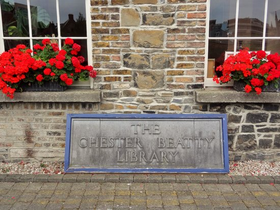 Chester Beatty Library: Entrance