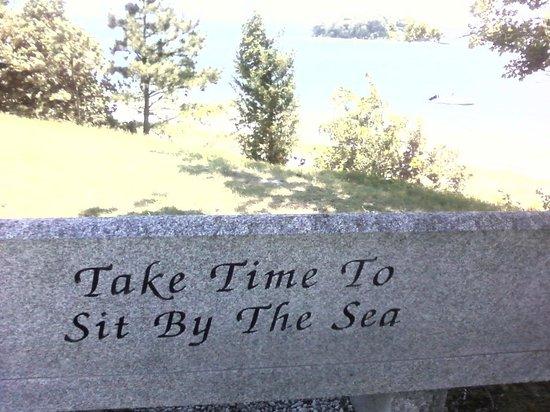 Inn on Onset Bay : My favorite seat at Onset Beach