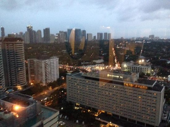 Ascott Makati: View from the apartment
