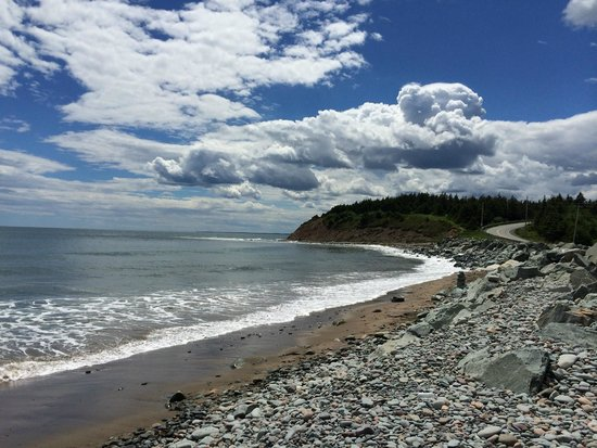 Lawrencetown Beach: View