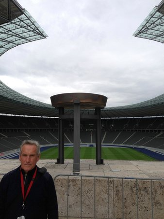 Olympiastadion Berlin: the flame