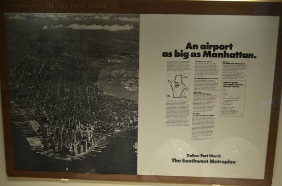 Old Red Museum: Did you know DFW is bigger the Manhattan ?