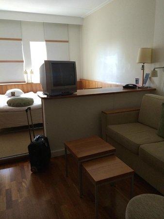 Quality Hotel Globe: A standard room.