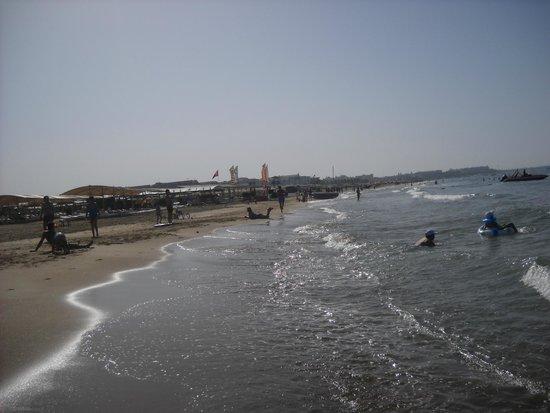 Aydinbey King's Palace Spa & Resort: Beach area