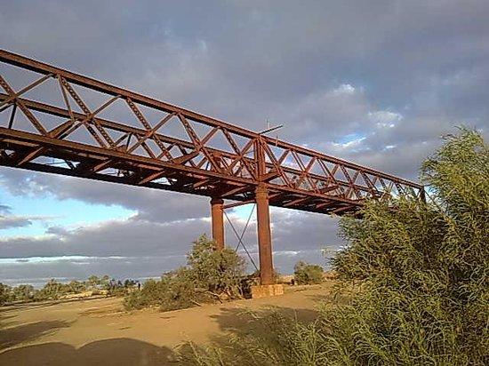Oodnadatta Track: Algebuckina Rail Bridge