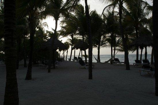 Grand Palladium Kantenah Resort & Spa: Shady beach areas