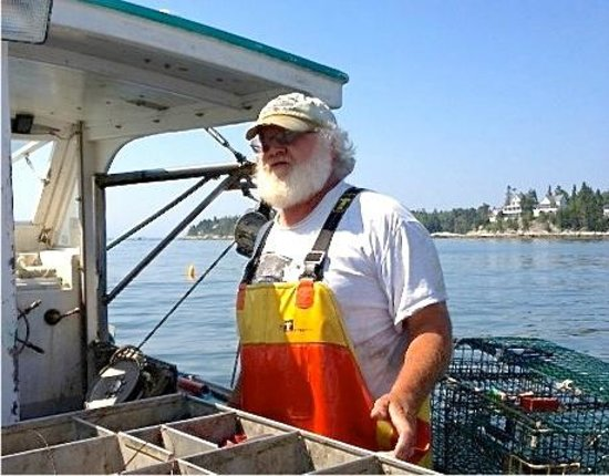 Lobster Boat Tour w/ Captain Clive Farrin: Capt Clive