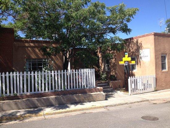 Las Palomas Inn Santa Fe: check in