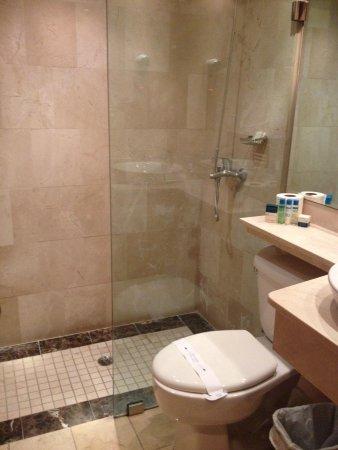 W&P Santo Domingo: Baño habitación 2.