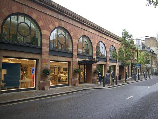 The Conran Shop Marylebone: outsude