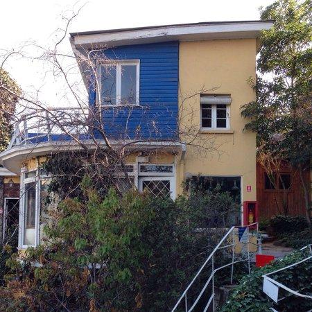 La Chascona (Haus von Pablo Neruda): A arquitetura reflete a personalidade de Neruda e sua esposa.