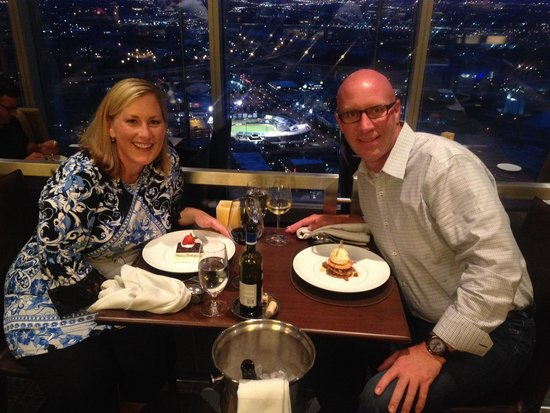 Vast : Fantastic meal, amazing service and incredible view!