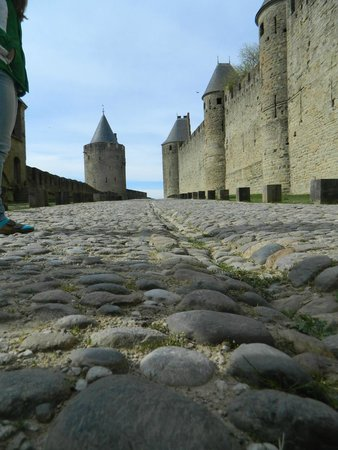 Carcassonne Medieval City: The walls and the city