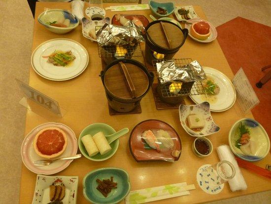 Hotel Towadaso : 夕食