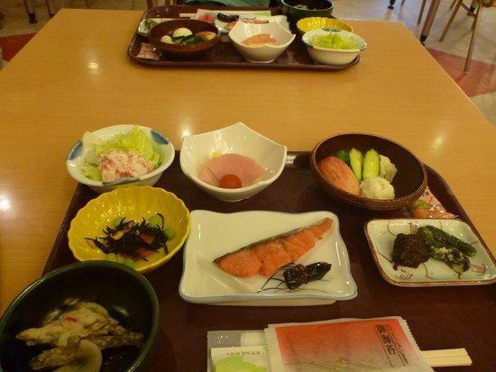 Hotel Towadaso : お決まりの和食の朝食