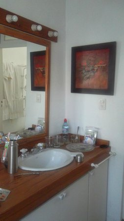 Jacaranda, studio & suite: cocina