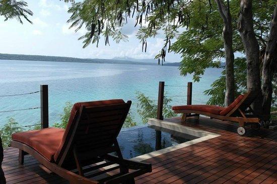 The Havannah, Vanuatu: waterfront villa