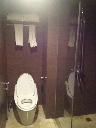 Amaroossa Suite Bali: toilet dan shower