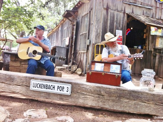 Luckenbach Texas General Store : Good Country Music