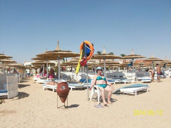 Dana Beach Resort: пляж