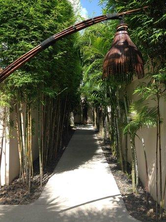 Dewa Phuket Resort Nai Yang Beach: ヴィラ通路