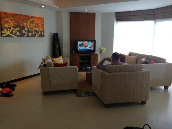 Cachet Resort Dewa Phuket - Nai Yang Beach : リヴィング