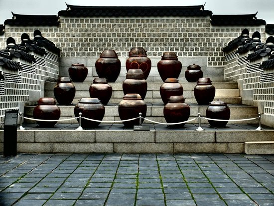 Gyeongbokgung : Sauce pots