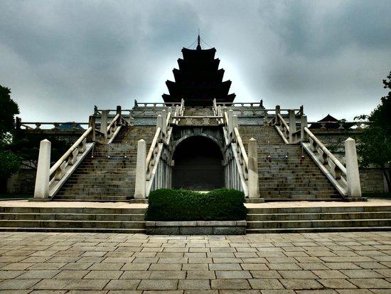 Gyeongbokgung : Five level tower for worship
