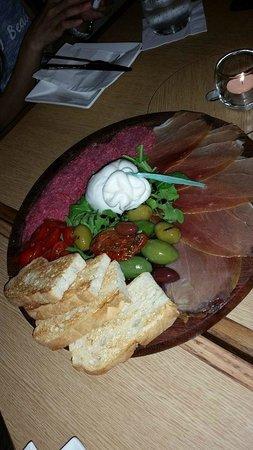 Enoteca Elgin Street: Antipasto platter