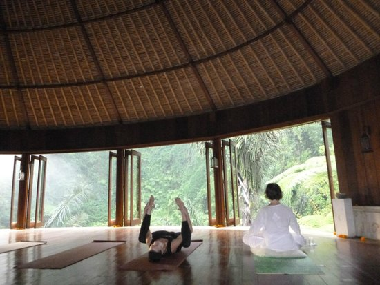 Bagus Jati Health & Wellbeing Retreat: 朝ヨガ