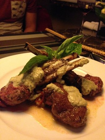 The Gourmet Corner Restaurant: Lamp chops