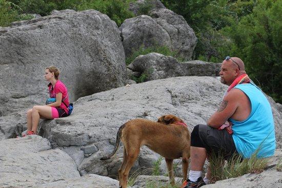 Pedernales Falls State Park: A spot right by Pedernales Falls