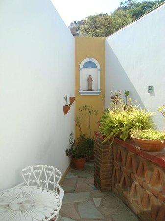 Al Son de los Santos: Terraza privada de la suite