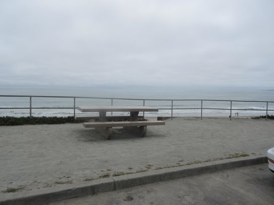 View from Parking Lot Picnic Area - Manresa State Beach, Aptos, CA