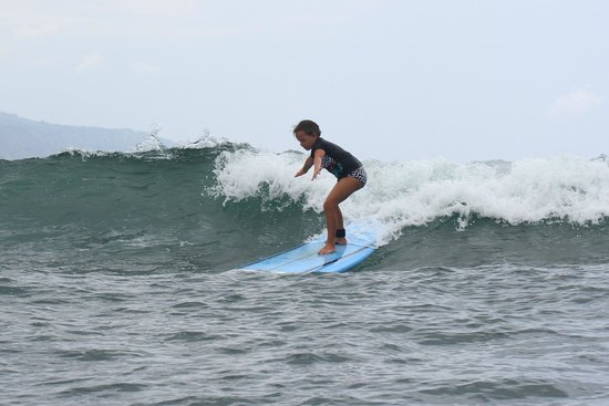 North Shore Surf Girls - Surf School: She had the best time of her life